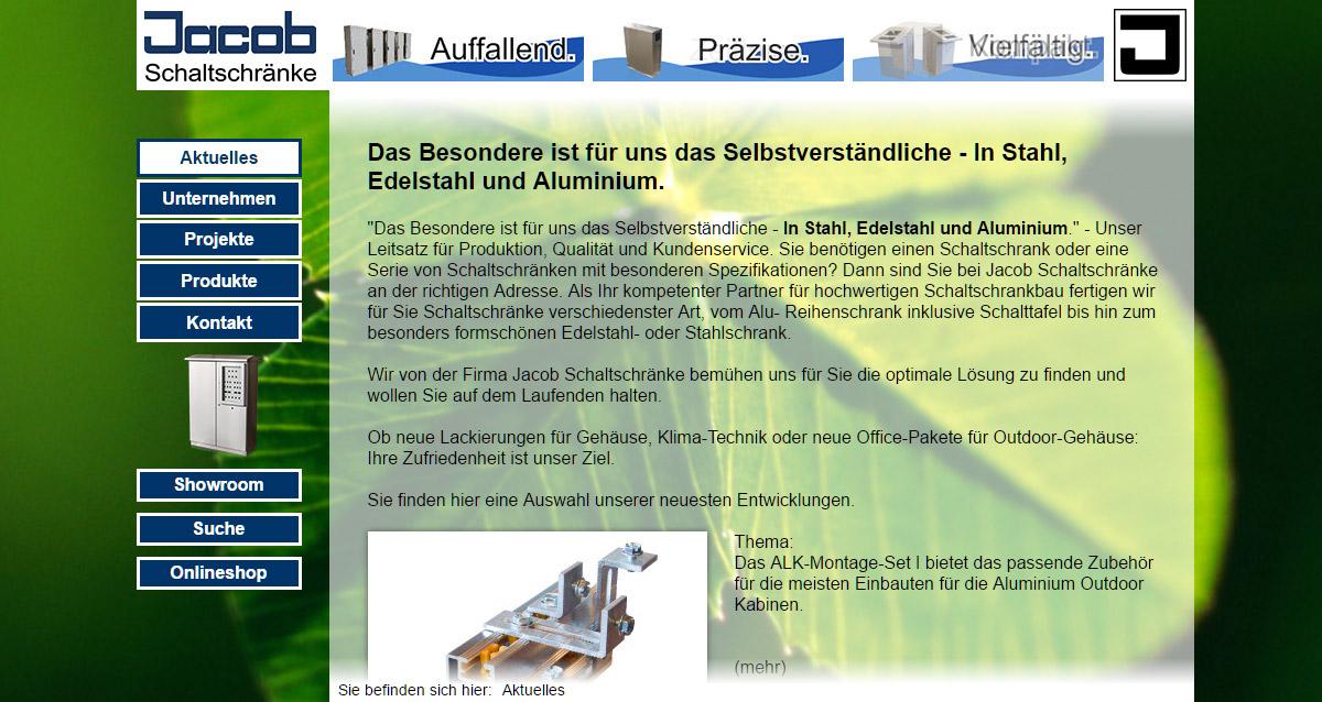 Jacob-Medien-Jacob-Schaltschränke-Desktop-Website | Der Jacob Medien ...