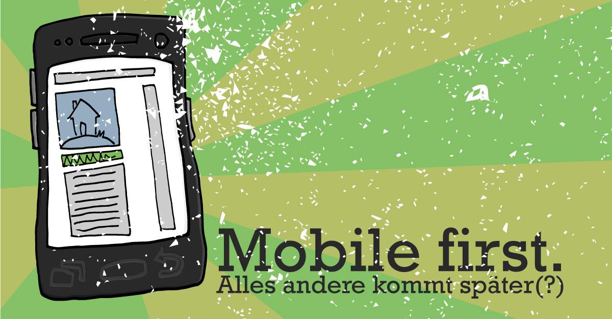 """Sollte """"Mobile First"""" wirklich die oberste Prämisse sein, wenn eine Website entwickelt wird?"""