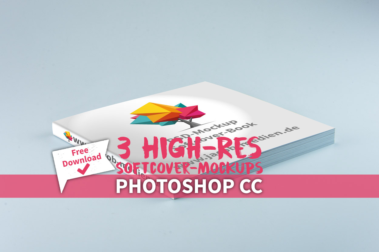 Hier gibt es drei hochauflösende Mockups für Photoshop für alle, von Hobby-Mediengestalter bis zum Marketing-Profi.