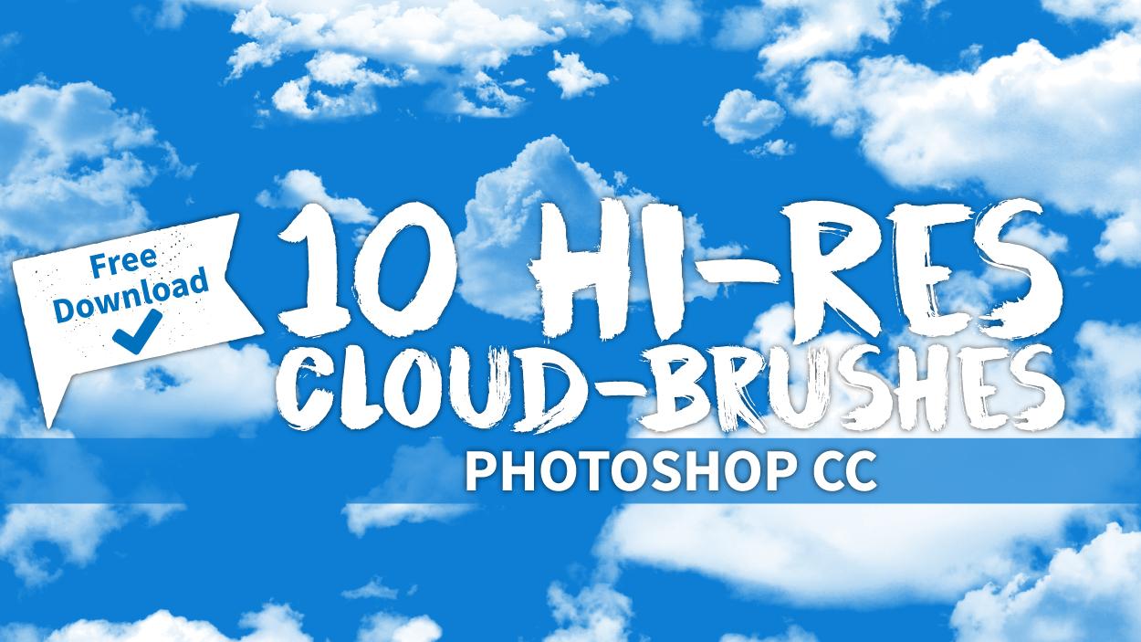 Ladet Euch jetzt die 10 kostenlosen Pinsel für Photoshop CC herunter - hochauflösend und sofort einsatzbereit.