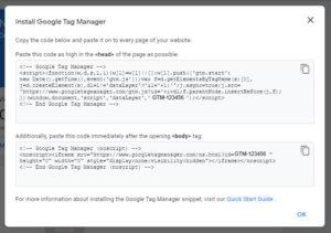 Für die meisten Content Management Systeme (wie auch WordPress) gibt es Plugins, in denen Ihr einfach die GTM-Kennung eingebt und schon könnt Ihr den Google Tag Manager nutzen.